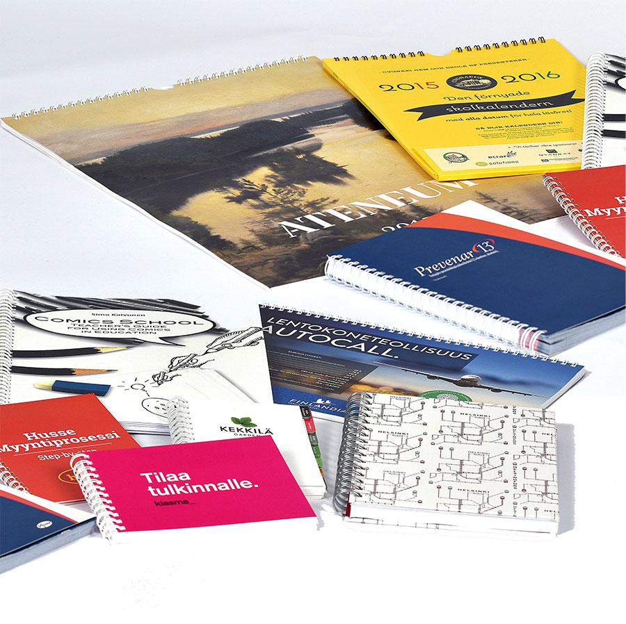 Katalogit ja hinnastot painatus