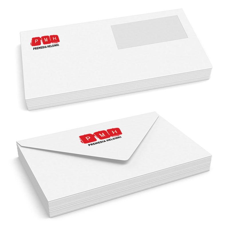 Kirjeiden ja kirjekuorien painatus